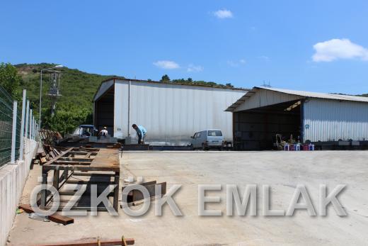 Kılıç'ta Satılık 1600 m2 Üretim Tesisi